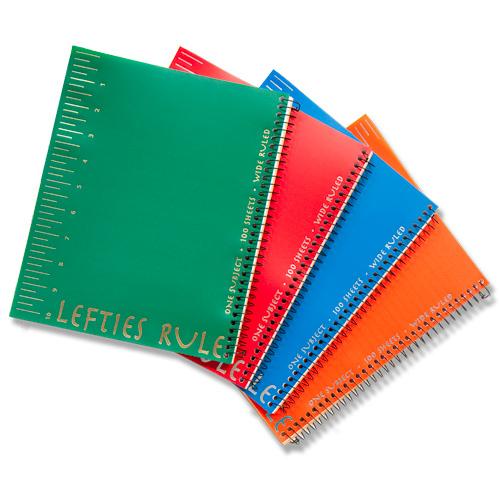 Wide Ruled Lefties Rule Notebook