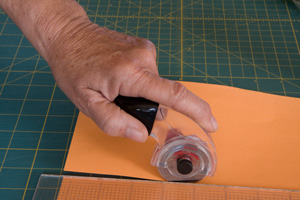 Cutting with Rotary Cutter